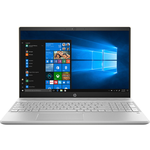 Laptop HP Pavilion 15-cs1008TU 5JL24PA - Xám