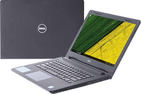 Laptop DELL Ins N3476 C4I51121 - Black
