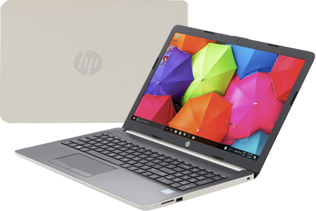 Laptop HP 15-da0048TU 	4ME63PA - Gold