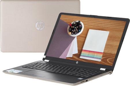 Laptop HP 15-da0054TU 4ME68PA - Gold