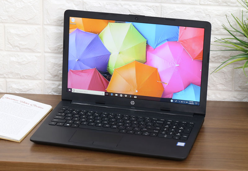 Laptop HP 15-da0055TU 4NA89PA - Black