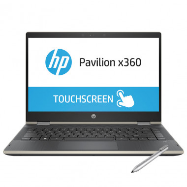 Laptop Hp X360 14-cd1018TU 5HV88PA - Gold