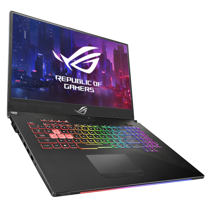 Máy tính xách tay Laptop Asus ROG Strix G G731-UEV140T Geforce GTX 1660Ti 6GB Intel Core i7-9750H, 8GB DDR4 2666MHz, 512G PCIE SSD, NVIDIA® GeForce GTX™ 1660Ti, 6GB GDDR5