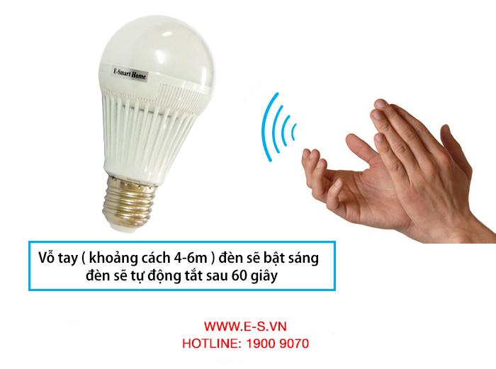 Đèn led cảm ứng âm thanh ES-19.02
