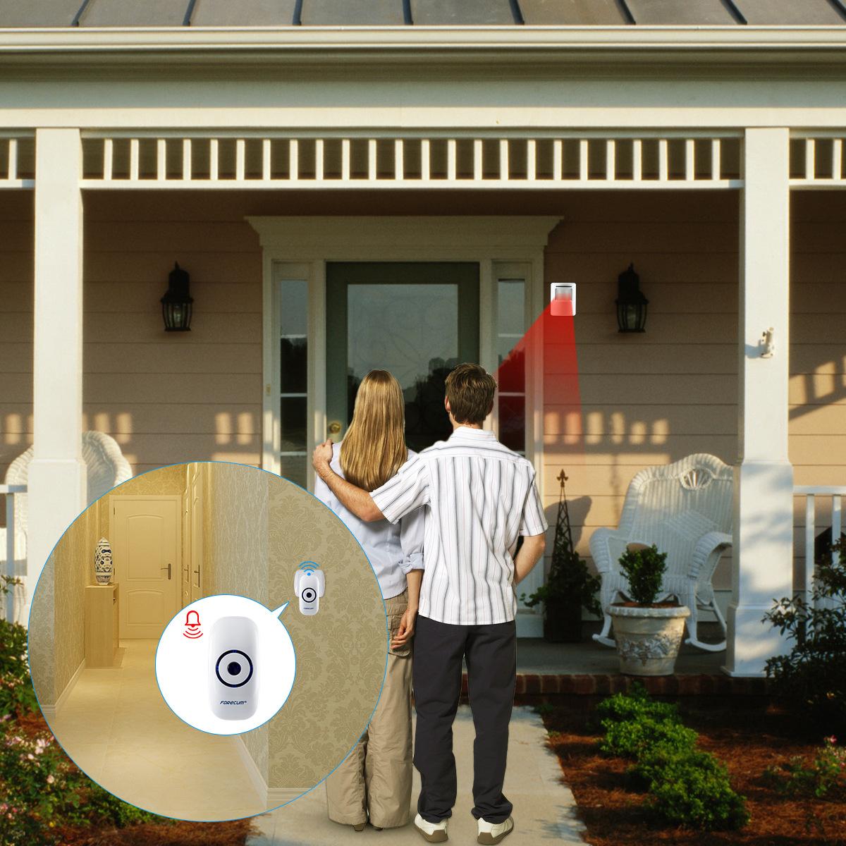 Chuông cửa không dây hồng ngoại ES-D13