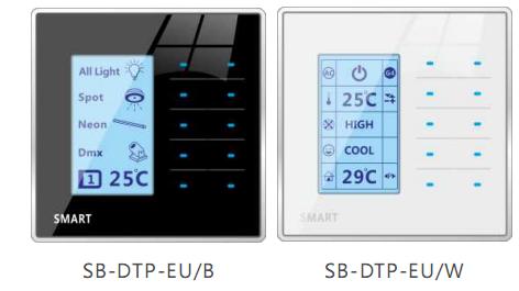 Bảng điều khiển DTP Smart Dynamic Touch Button Panel (G4s)