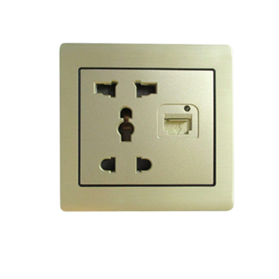 Ổ cắm điện và ổ cắm mạng ES-OC05