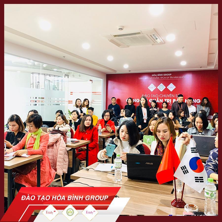 Hòa Bình Group đào tạo chuyên sâu về quản trị công cụ bán hàng Online 2