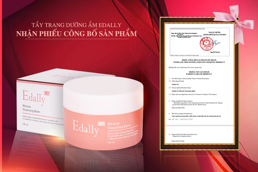 Tẩy trang Edally Miracle Cleansing Balm 1