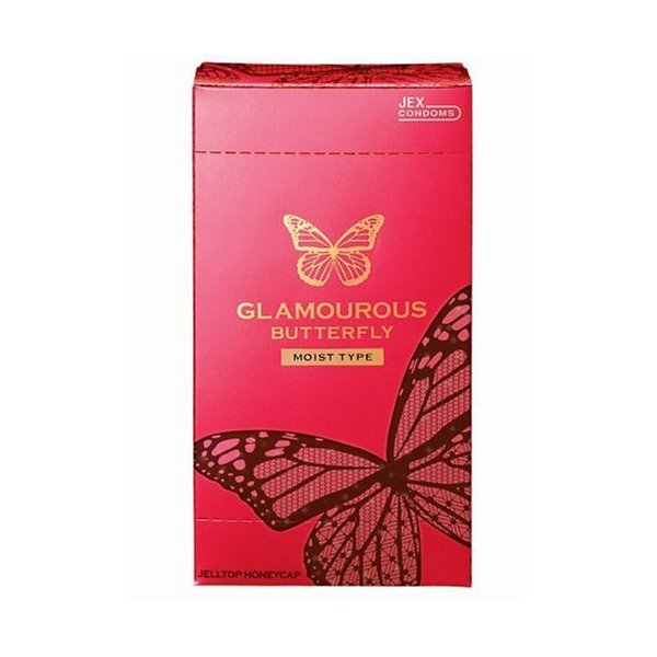 B151- Bao cao su Jex Glamcurous Butterfly moist 1000-hộp 12c