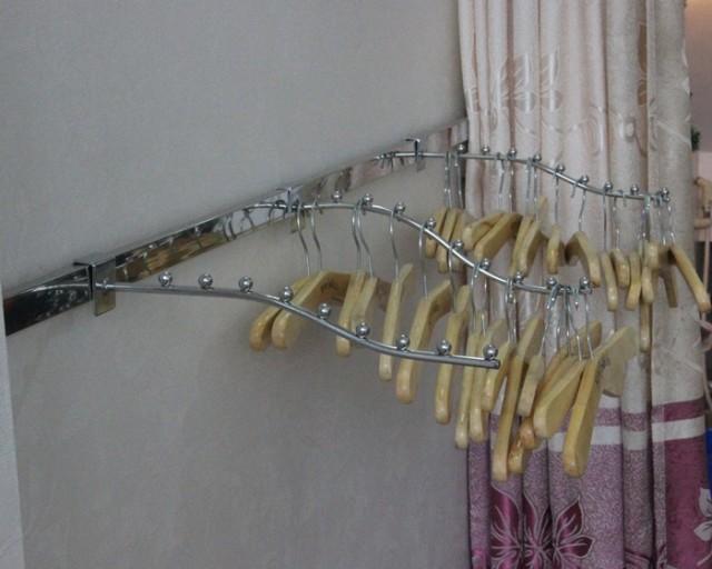 Bộ giá kệ treo tường bằng thanh ray-thanh ngang-tay đỡ và móc treo