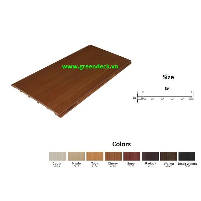 Trần gỗ - gỗ ốp tường QBI11