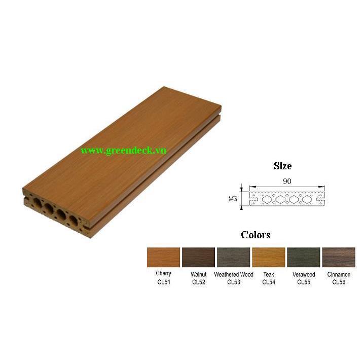 Sàn gỗ ngoài trời Greendeck