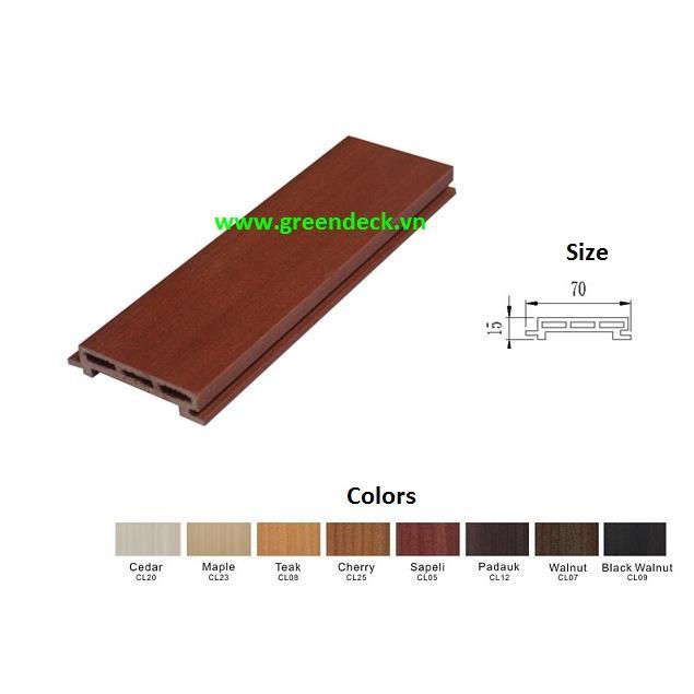 Trần gỗ -  gỗ ốp tường BQI12