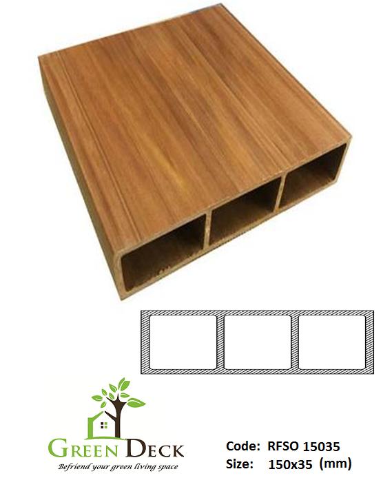 Hộp Lam Gỗ Nhựa Trang Trí Nội Ngoại Thất RSFO 15035