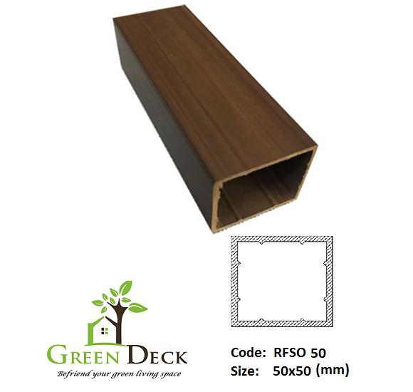 Hộp Lam gỗ Trang Trí Nội Ngoại Thất RSFO 50