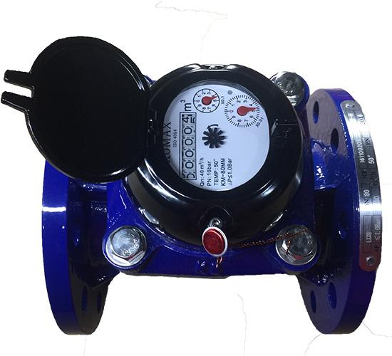 Đồng hồ đo lưu lượng nước thải DN100 Komax mặt bích