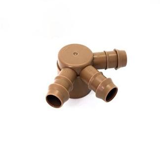 Bộ chia 3 nhánh ống 16mm nối ren trong 27mm