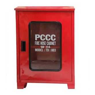 Hộp chữa cháy 500*600*180 (sơn tĩnh điện, có chân, mái)