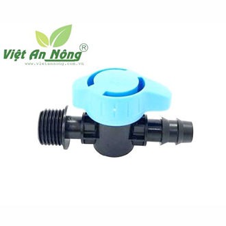 Van ren ngoài 21mm nối ống LDPE 16mm - ZM