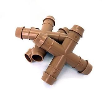 Chữ thập gắn ống LDPE 16mm cao cấp ZM