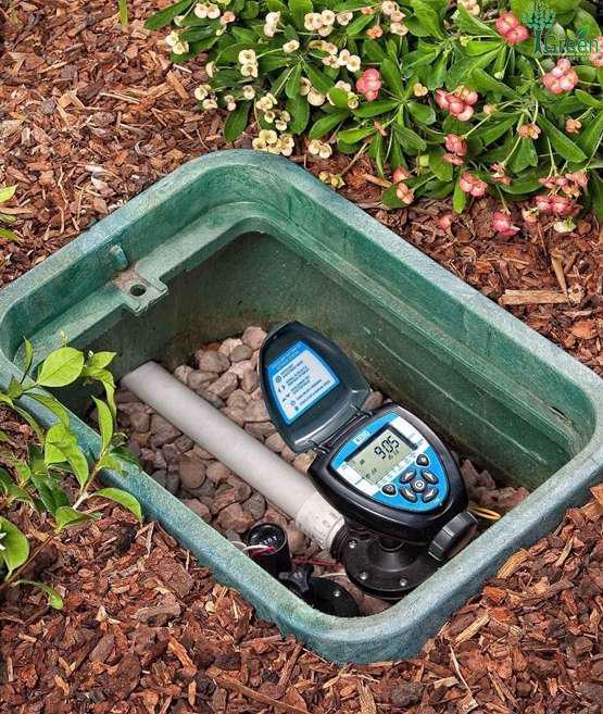 Bộ điều khiển tưới nước tích hợp van điện từ 34mm DIG – Mỹ