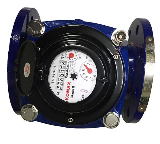 Đồng hồ đo nước sạch DN65 KOMAX mặt bích