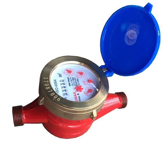 Đồng hồ nước nóng Komax DN15