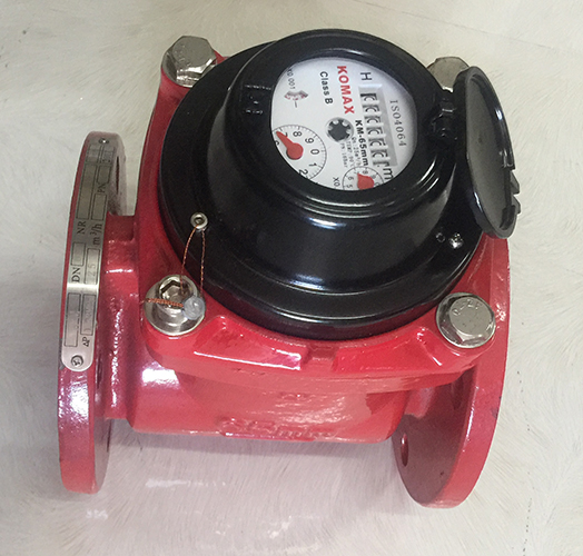 Đồng hồ nước nóng Komax DN50