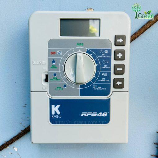 Hộp điều khiển van điện từ tưới tự động RPS 46 KRain – Mỹ