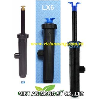 Vòi tưới phun sương Pop-up LX6