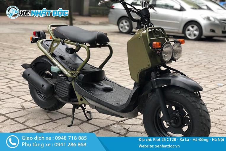 Giá xe máy Honda Zoomer 50cc Nhật bãi tại Hà Nội bán bao nhiêu?