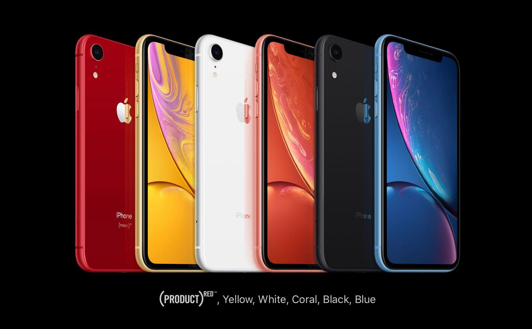 các phiên bản iPhone Xr