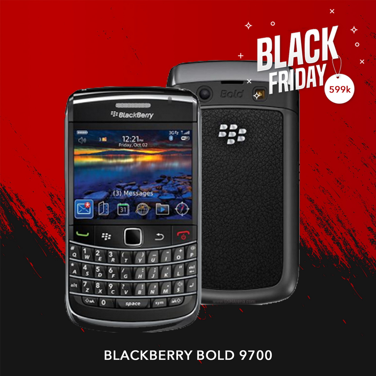 Blackberry Bold 9700 |  Black Friday