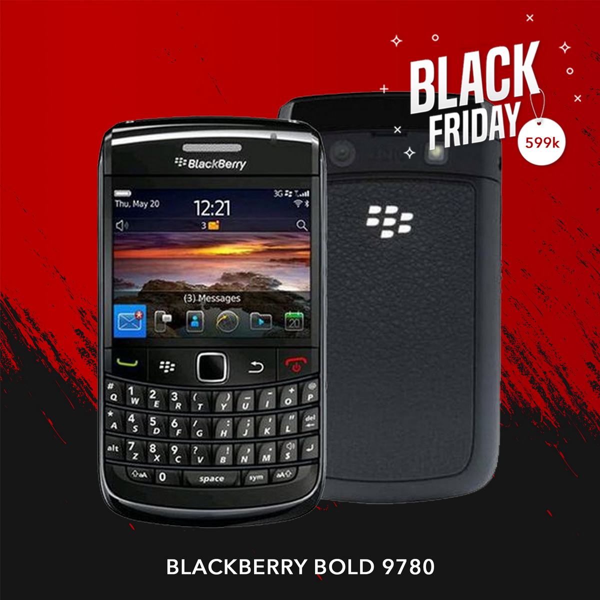 Blackberry Bold 9780 |  Black Friday