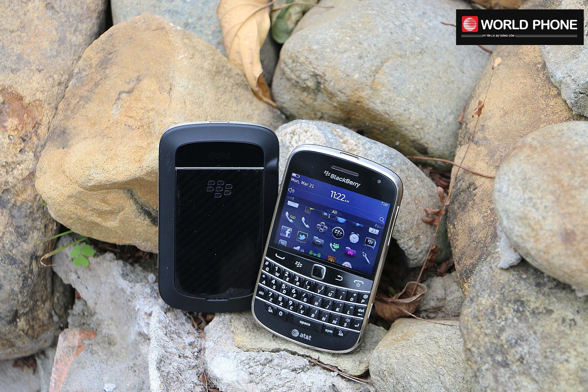 Một trong những đại diện xuất sắc của dòng sản phẩm Blackberry Bold