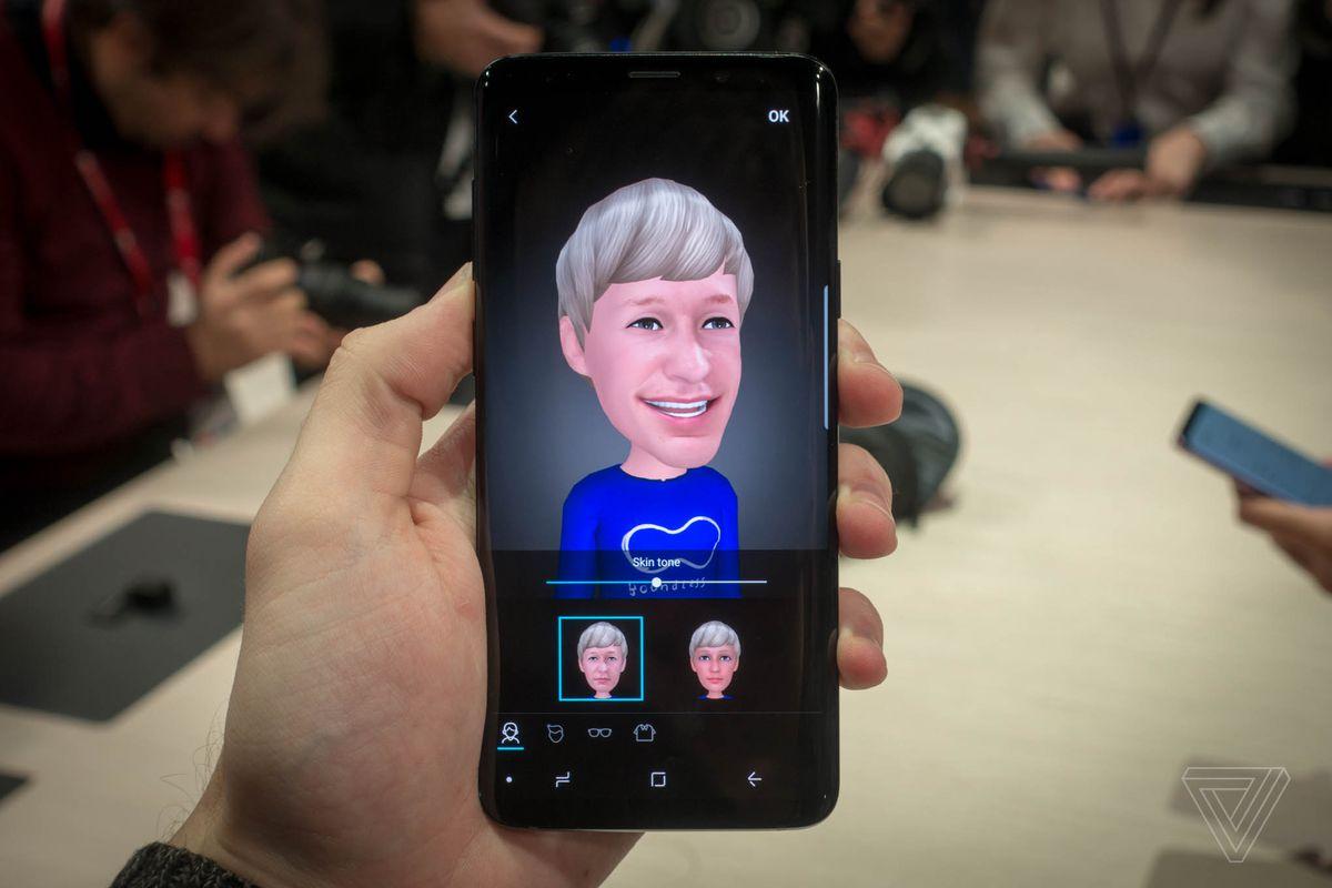 AR Emoji vô cùng thú vị trên Samsung Galaxy S9