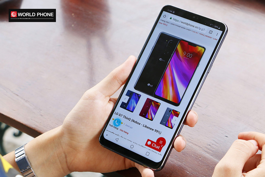 Chất lượng âm thanh tuyệt đỉnh trên LG G7 ThinQ