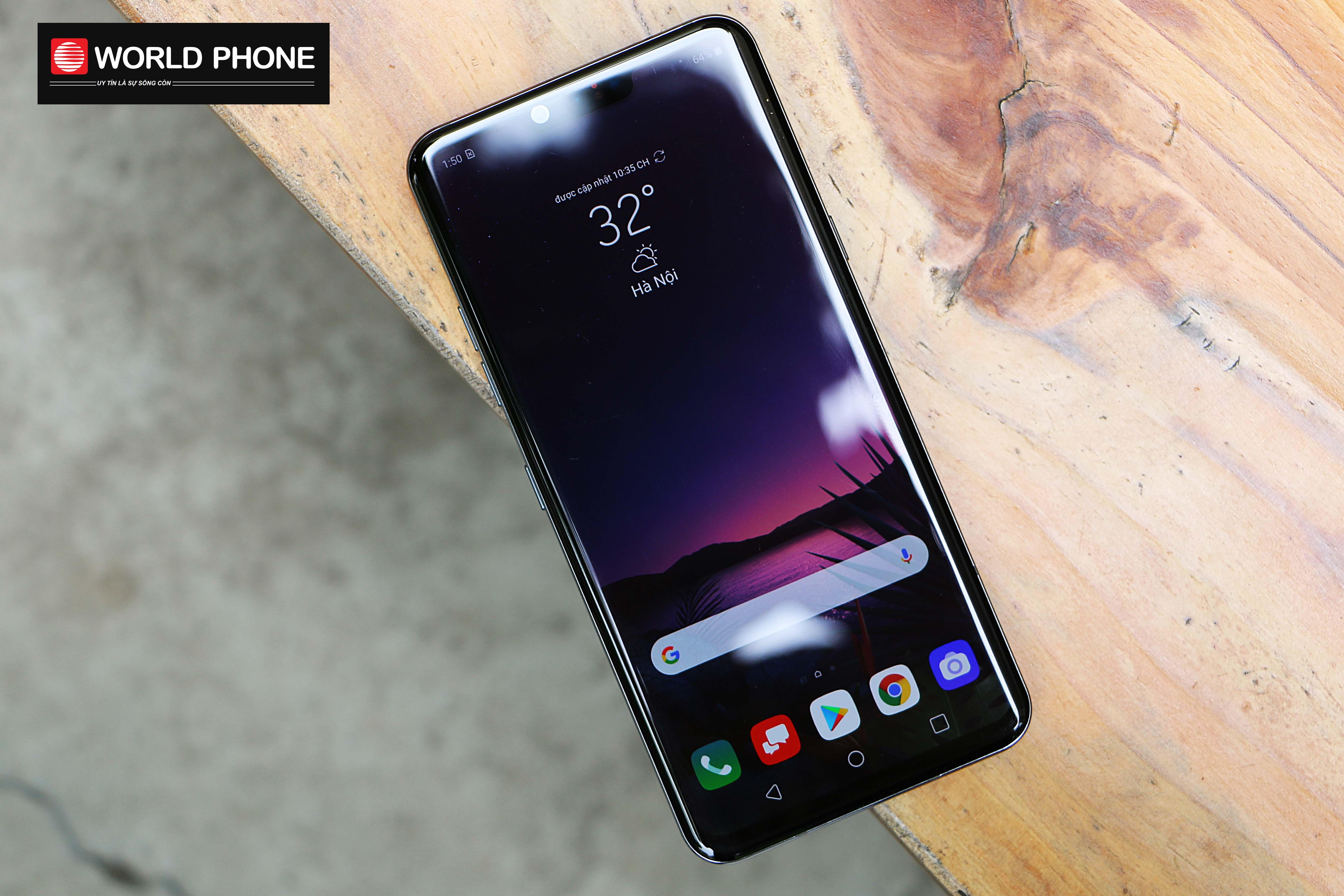 LG G8 có thiết kế cuốn hút, thời thượng