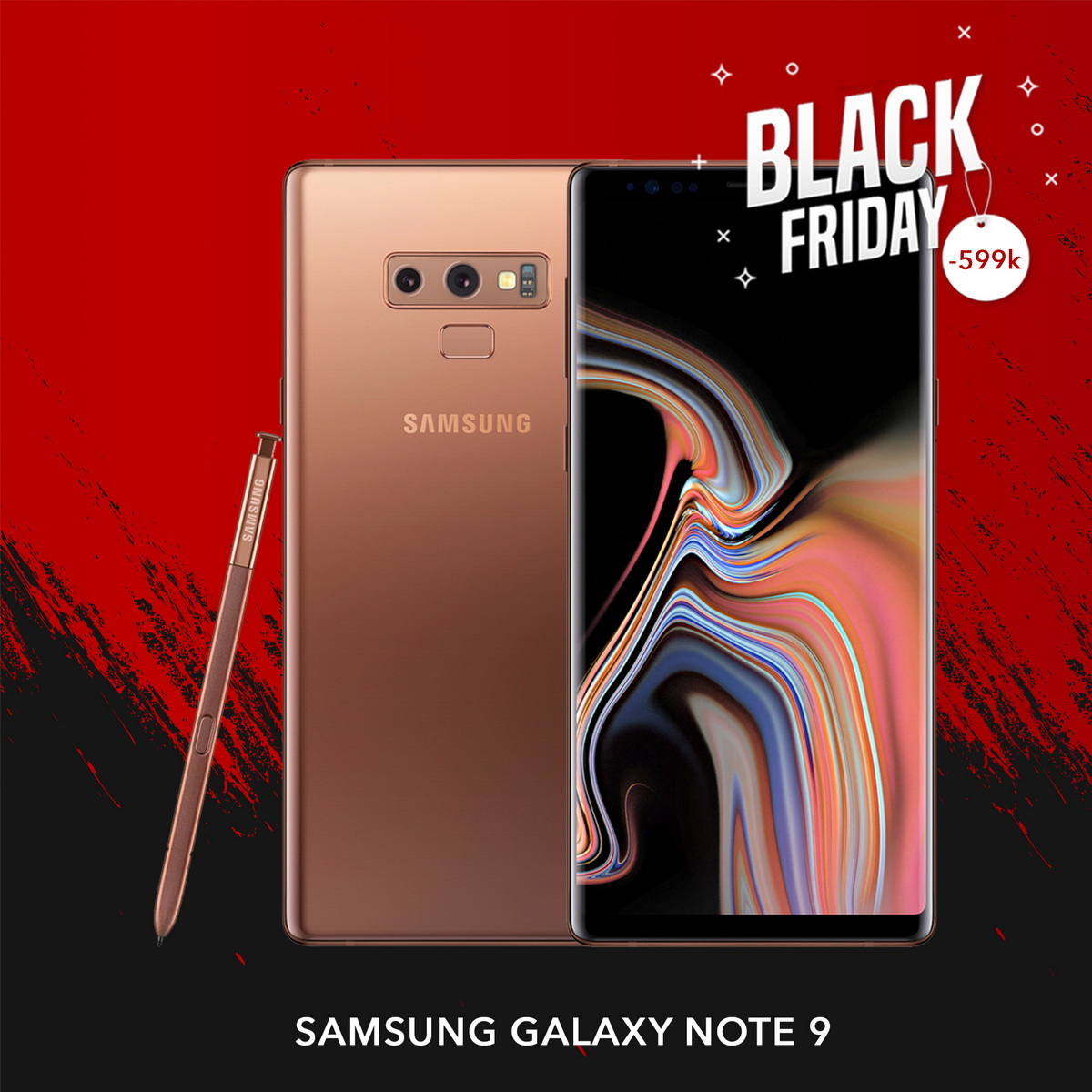 Samsung Galaxy Note 9 |  Black Friday