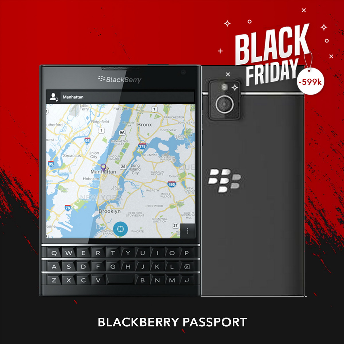 Blackberry Passport |  Black Friday