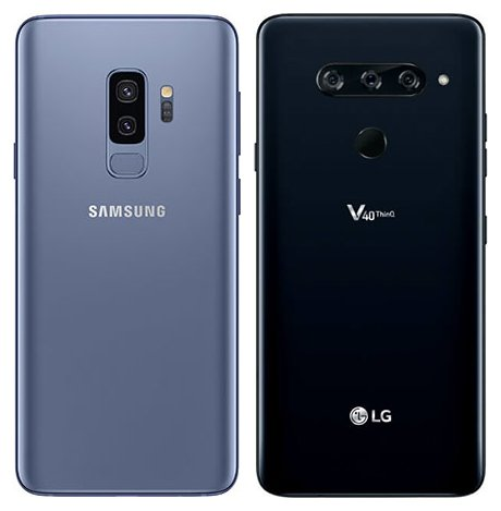 Galaxy S9 Plus và Lg V40 ThinQ