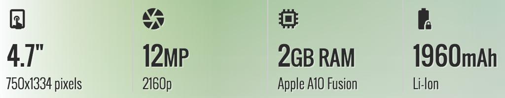 Thông số kỹ thuật iphone 7