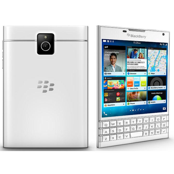 BlackBerry Passport White (Mới 100% - Nobox)