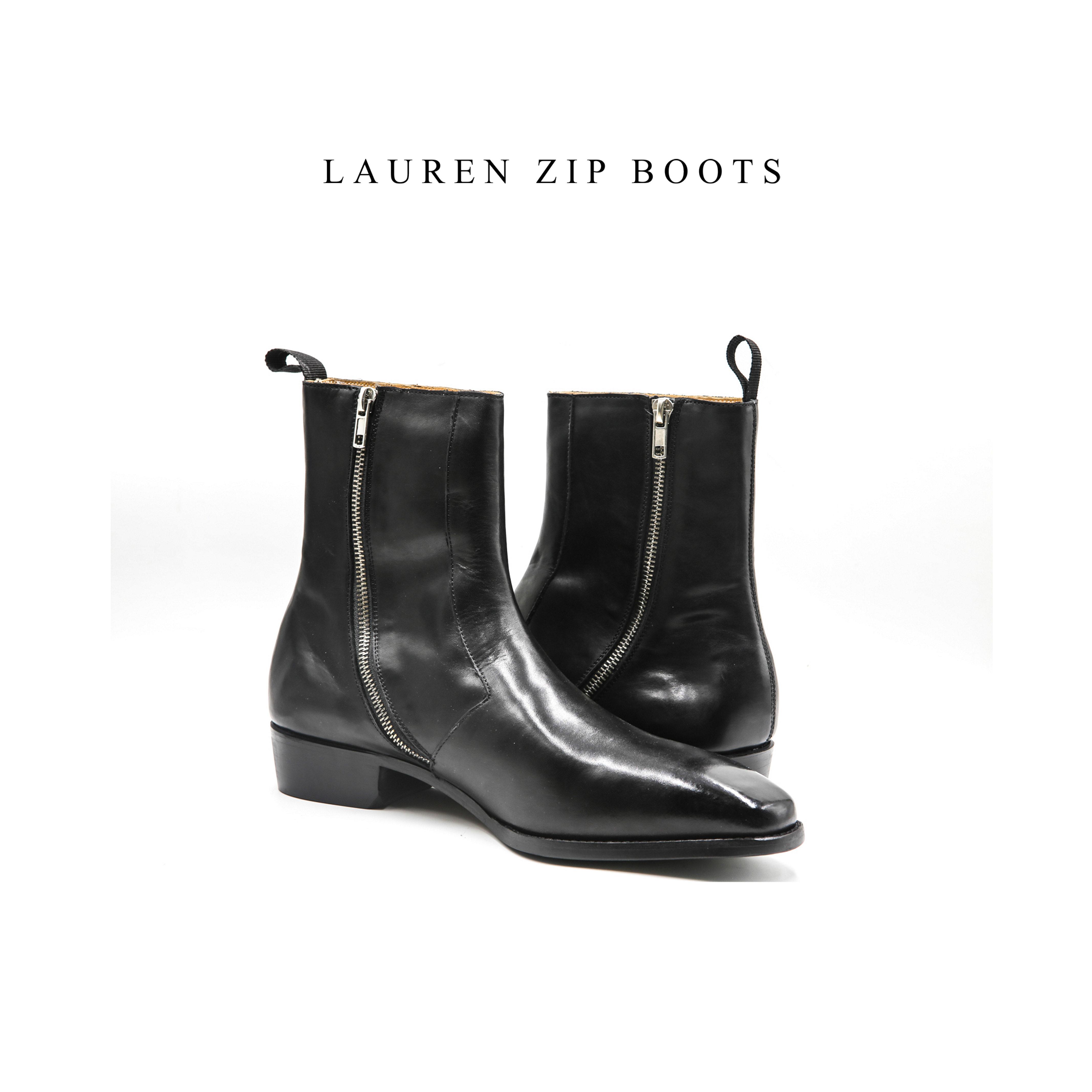 LAUREN Zip Boots