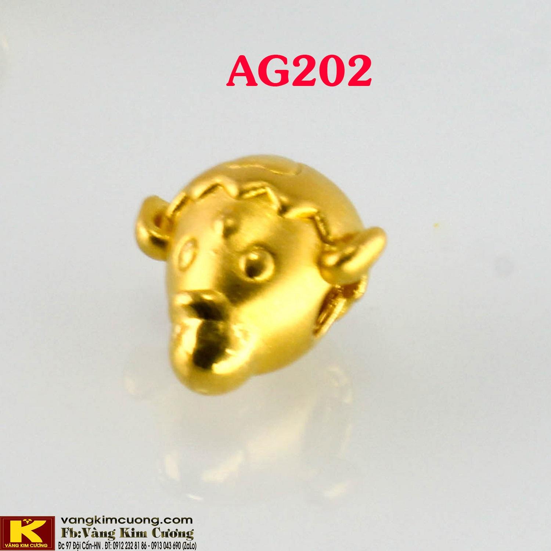 Charm Khỉ vàng 24k mã AG202