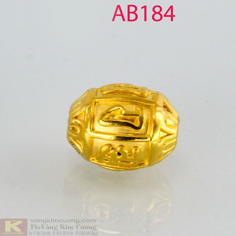 Charm cầu bình an 24k mã AB184