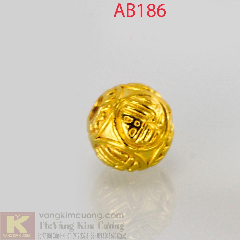 Charm cầu chữ Phúc 24k mã AB186