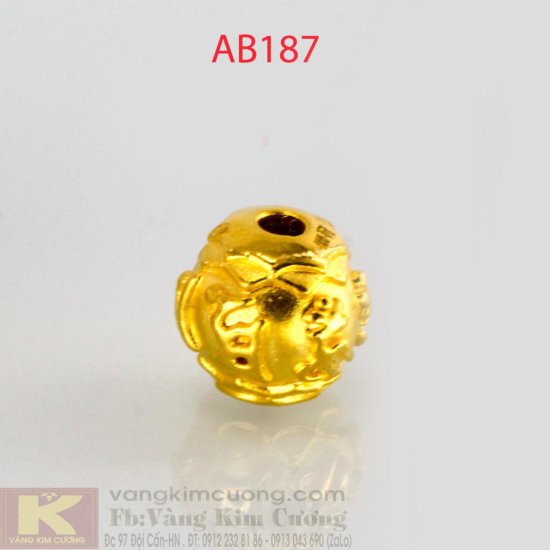 Charm may mắn 24k mã AB187
