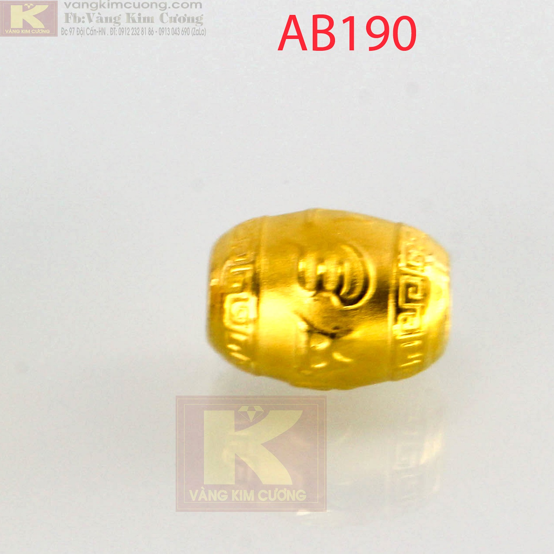 Charm cầu phú quý 24k mã AB190